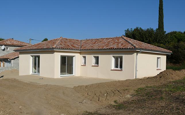 Maçonnerie construction villa