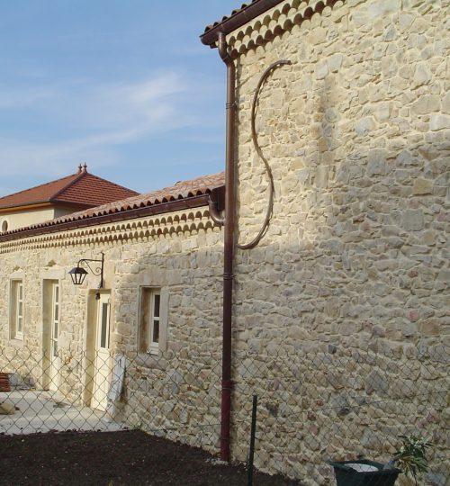 Rénovation toiture et façade en pierre : après